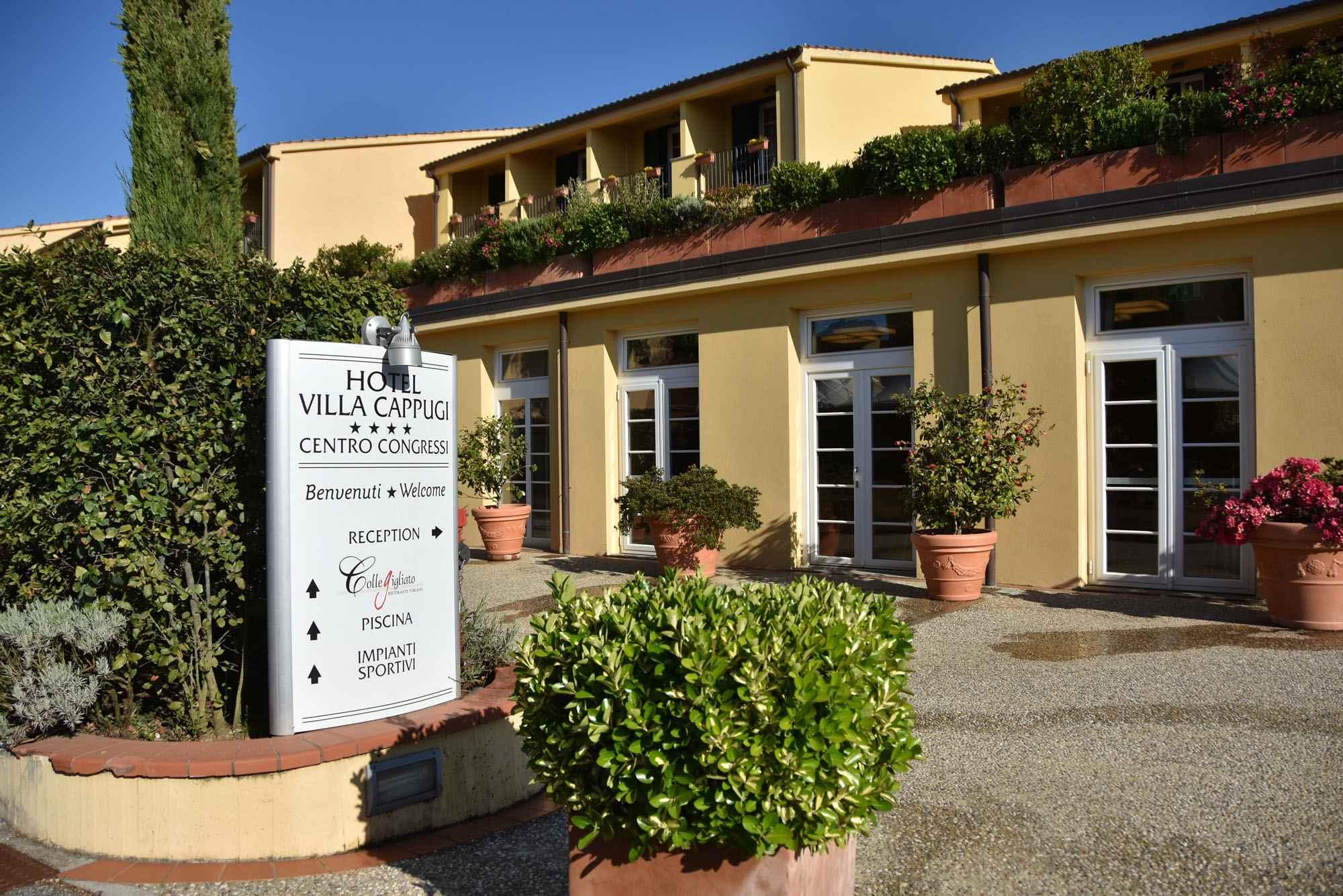 Hotel Villa Cappugi Pistoia Pt Official Reservation